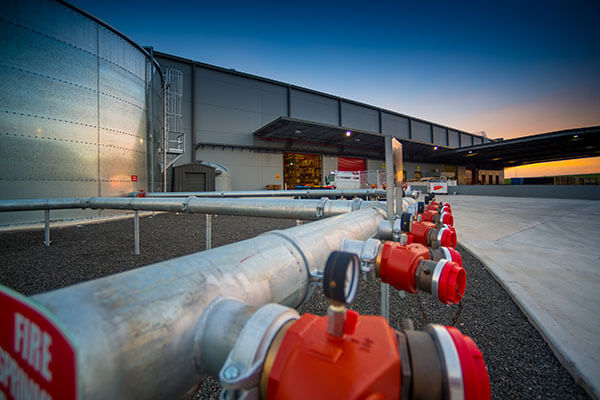 Retail construction for Fire sprinkler system cost calculator